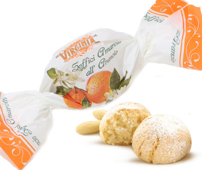 Amaretto Cookie Orange 1 pcs.