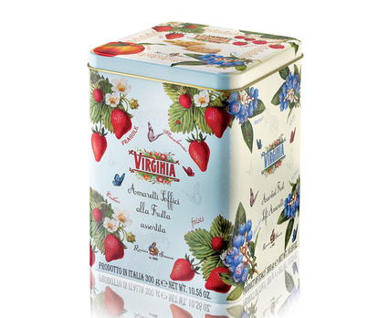 Amaretti Cookies Assorted Fruits