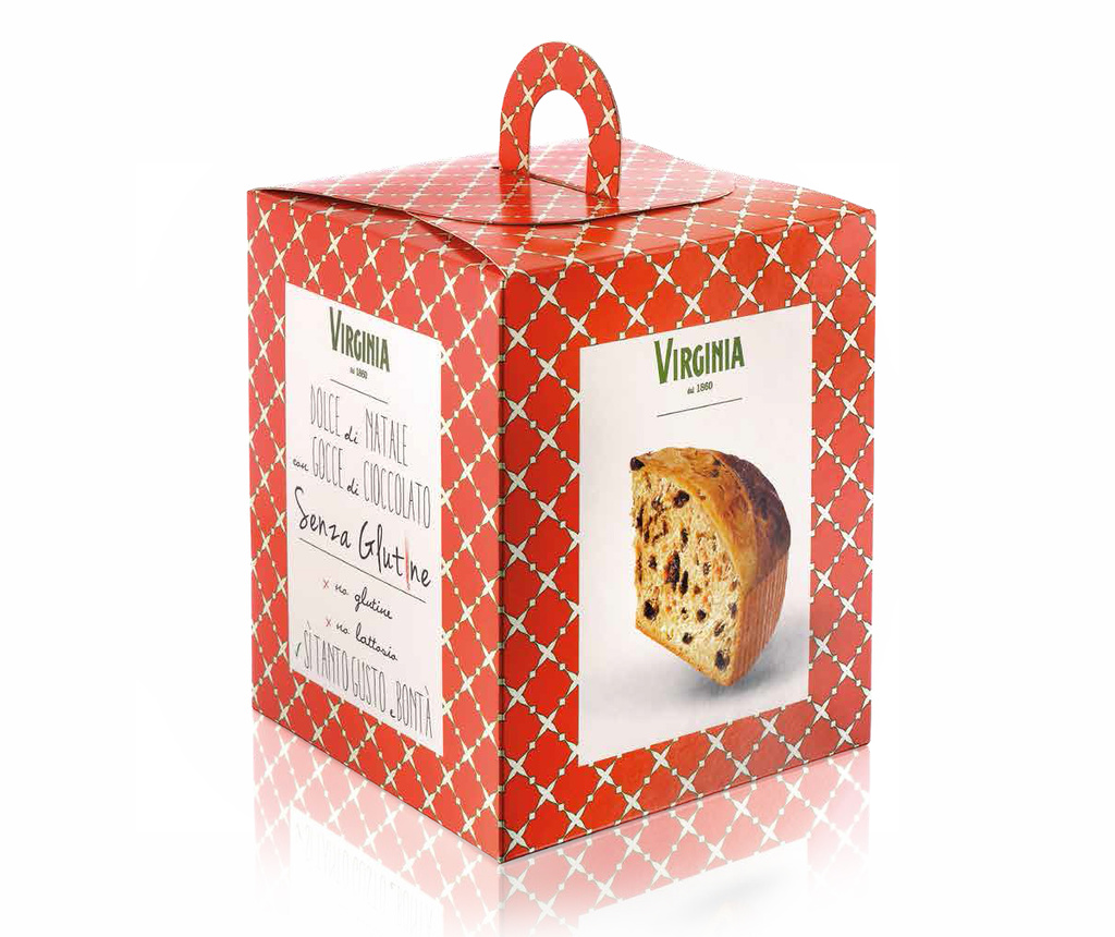 Christmas Cake with Chocolate drops - Gluten and lactose free Panettone 300g